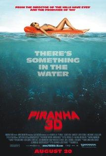 Pirahna 3D poster