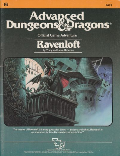 Ravenloft module cover
