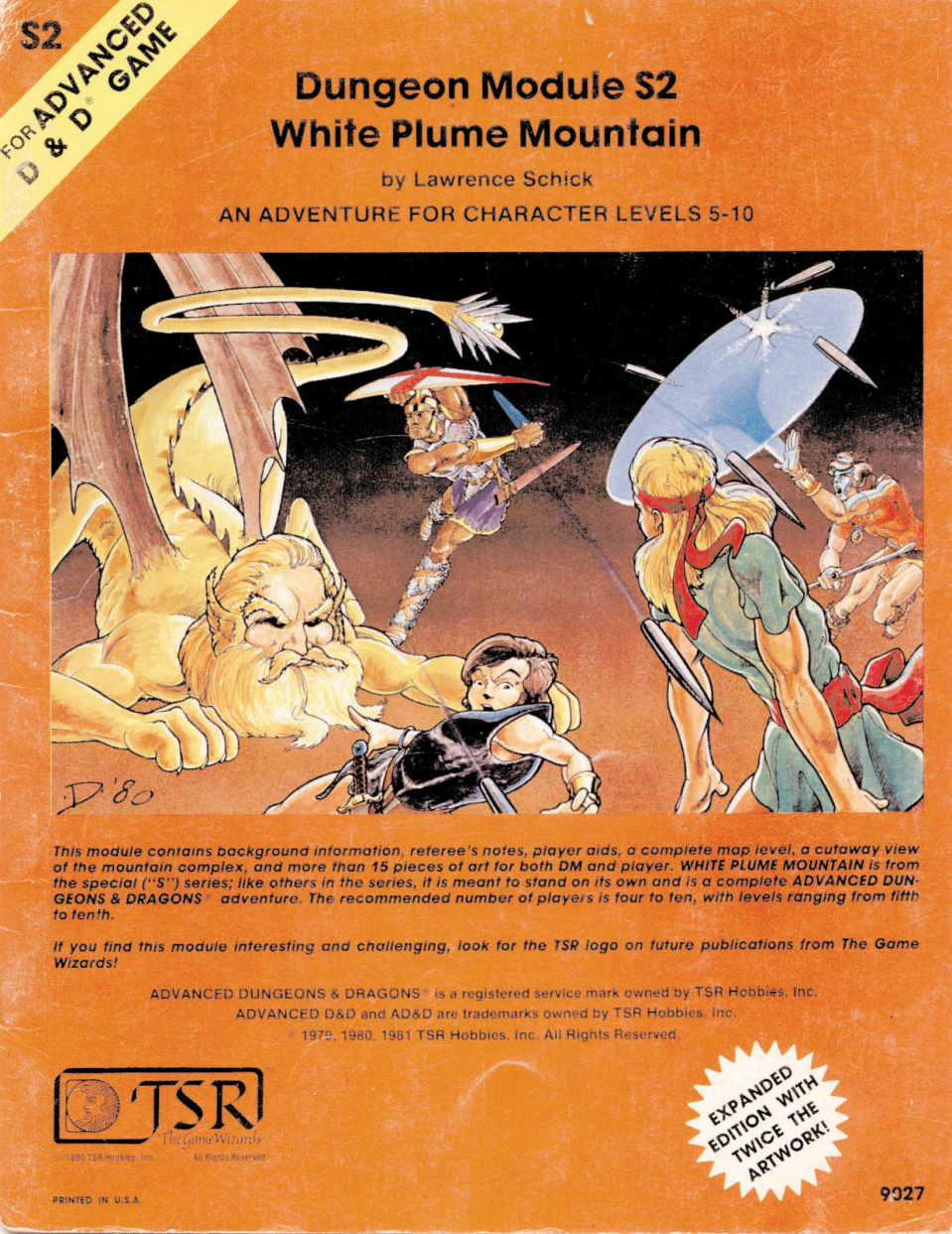 White Plume Mountain cover
