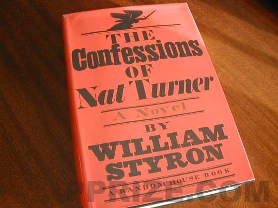 Cover of the The Confessions of Nat Turner