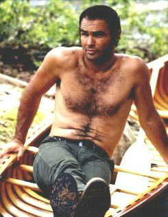 Burt Reynolds shirtless