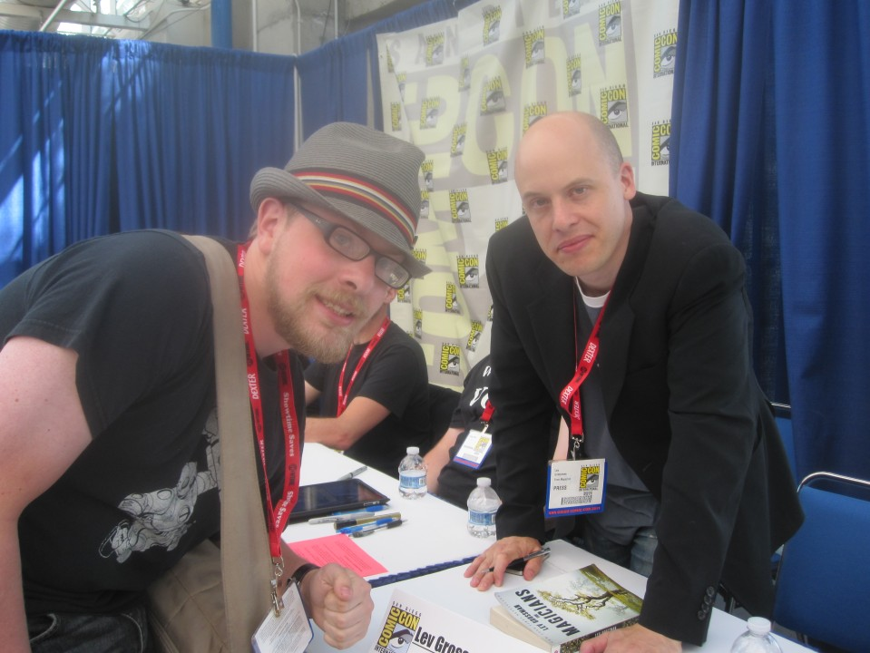 Lev Grossman and I