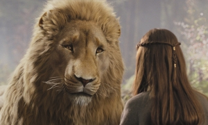 Holy Crap it's Aslan!