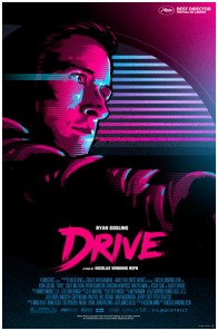 Drive poster by James White (Signalnoise)