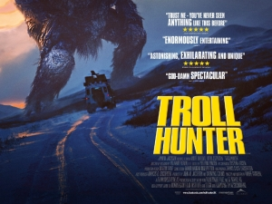 Troll Hunter poster UK