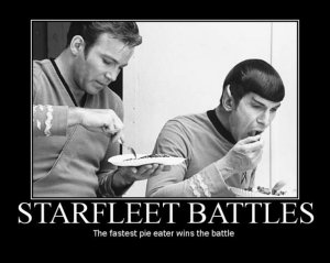 Starfleet Pie Battle