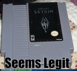 Seems legit cartridge