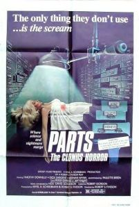 Parts: The Clonus Horror poster