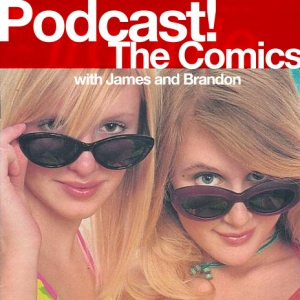 Podcast! The Comics logo