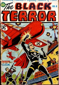 Black Terror issue 8 cover